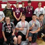 Junior High Powerlifting Results from Temple Meet