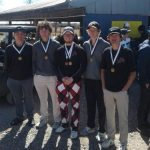Boys Varsity Golf finishes 1st place at Marlow Tournament