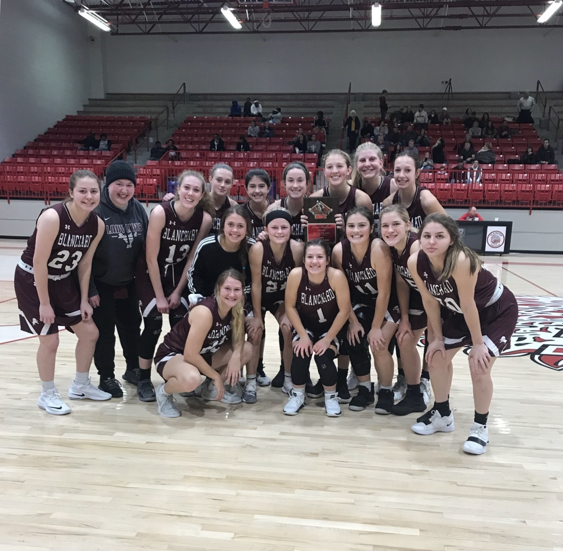 Girls Varsity Basketball beats Plainview 54 – 36