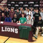 Two Lions Sign Letters of Intent
