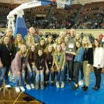 Blanchard Lady Lions Basketball Class 4A Academic State Champions