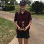 Three Blanchard Girls Golfers Compete in the Canadian Valley Conference Golf Tournament
