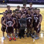 Boys 7th Grade Basketball beats Pioneer Mustangs 26 – 14 for Tournament Championship