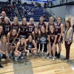 Girls Varsity Basketball beats Perkins-Tryon High School 39 – 36 – Noble Tournament Champions