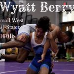 Blanchard's Wyatt Berry Selected to West Wrestling All State Team
