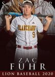 Baseball Senior Spotlight – Zac Fuhr