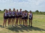 Girls Varsity Cross Country finishes 1st place at Duncan Invitational