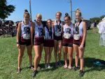 Girls Middle School Cross Country finishes 3rd place at Madill Cat Run