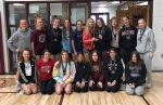 Girls Middle School Track finishes 1st place at PC West Invitational