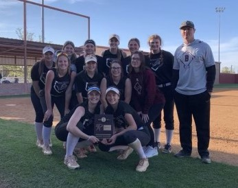 Lady Lions Battle Back to Claim District Title