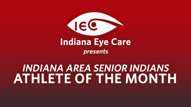 Congratulations to Kate Kuzneski, Octobers's Athlete of the Month! Sponsored by Indiana Eye Care!
