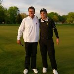 Richmond High School Boys Varsity Golf beat Fishers High School 328-330