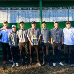 Richmond High School Boys Varsity Golf beat Delta High School 307-324
