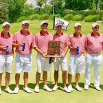 Richmond High School Boys Varsity Golf finishes 1st place
