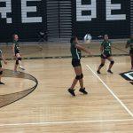 Richmond Girls 7th Grade Volleyball Dennis Intermediate  beat Randolph Southern Jr-Sr High School 2-1
