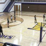 Richmond Girls 8th Grade Volleyball Dennis Intermediate falls to Hagerstown Jr-Sr High School 2-1