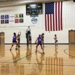 Richmond Girls 7th Grade Volleyball Test Intermediate beat Northeastern High School 2-0
