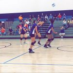 Richmond Girls 8th Grade Volleyball Test Intermediate beat Union City Jr/sr High School 2-1