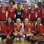 Richmond High School Girls Junior Varsity Volleyball beat Seton High School 2-0