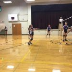 Richmond Girls 7th Grade Volleyball Test Intermediate falls to Connersville MS 2-0