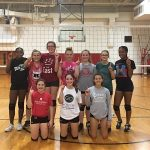 Richmond Girls 8th Grade Volleyball Dennis Intermediate beat Centerville Jr High School 2-0