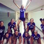 Richmond Girls 8th Grade Volleyball Test Intermediate beat Connersville MS 2-0