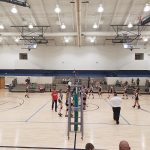Richmond Girls 8th Grade Volleyball Dennis Intermediate beat Brookville MS 2-0