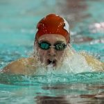 Boys Varsity Swimming beats Connersville 102 – 83