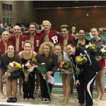 Girls Varsity Swimming beats Muncie Burris 134 – 38
