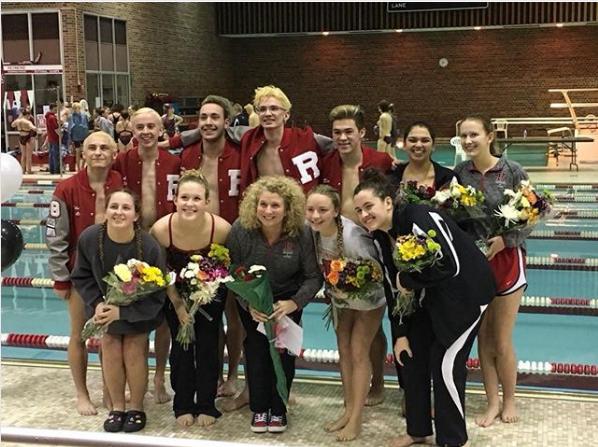 Girls Varsity Swimming beats Muncie Burris 134 – 38