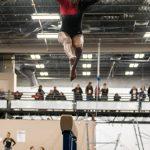 Girls Varsity Gymnastics finishes 1st place at New Castle High School @ New Castle High School