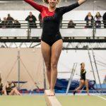 Girls Varsity Gymnastics finishes 1st place at Jay County High School @ Jay County High School