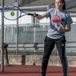 Girls Varsity Tennis beats Lincoln 3 – 1