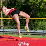 Austin, VanMiddlesworth Shine as Girls Finish 4th in Track Sectional