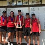 Girls Varsity Golf finishes 1st place at Greensburg Invite
