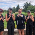 Girls Varsity Golf finishes 2nd place at Ncc Championships