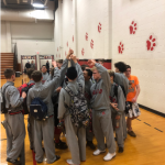 Boys Varsity Wrestling beats Rushville Consolidated 50 – 22
