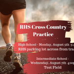 Cross Country Info for IS/HS