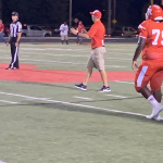 Boys Varsity Football falls to Mt. Vernon 45 – 14