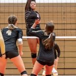 Girls Varsity Volleyball beats Northeastern 3 – 1