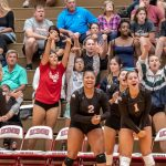 Girls Varsity Volleyball beats Cambridge City Lincoln 3 – 2