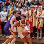 Boys Basketball: Red Devils Rally, but Fall to Unbeaten Spartans
