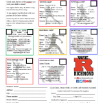 RHS Summer Camps Announced