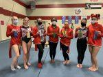 Richmond gymnasts WIN season opener! Junior Kinsey Bosell wins the meet!