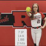 Girls Varsity Softball beats Marion 3 – 1