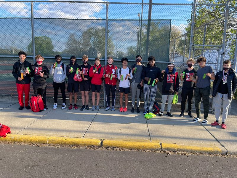 Boys Track Places 8th at Marion Relays