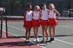 Girls Varsity Tennis beats Anderson 3 – 2