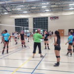 Okemos Volleyball Tryouts Underway