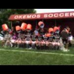 Okemos Boys Soccer takes the #ALSIceBucketChallenge