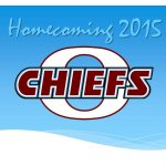 Chiefs celebrate Homecoming on Friday, October 2nd
